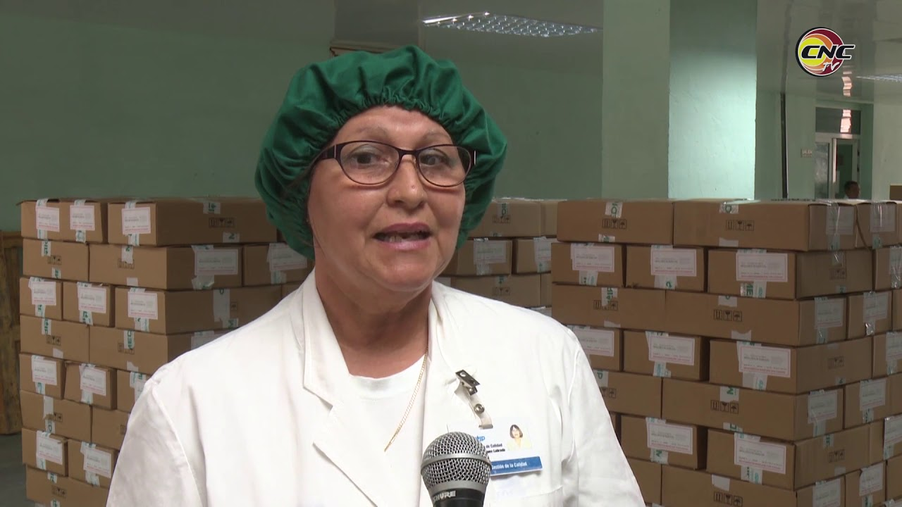 Aporta MEDILIP producciones de hipoclorito para enfrentar el coronavirus