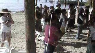 Yoga y Meditacion en Navachiste 2009