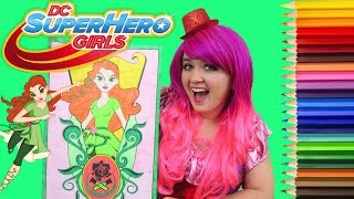 Coloring Harley Quinn Dc Super Hero Girls Giant Coloring Book