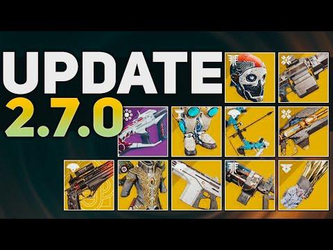 Exotic Changes, Subclass BUFFS, & Archetype BUFFS (Sandbox Update 2.7.0) | Destiny 2 Season of Dawn
