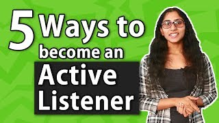 5 Top Secret Tips to Become an Active Listener l skillActz l Personality Development Training
