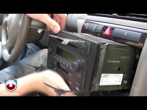 2002-2005 Audi A6/Allroad Symphony II Radio removal