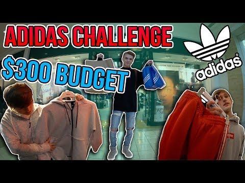 What Can $300 buy 3 People at the Adidas Store?