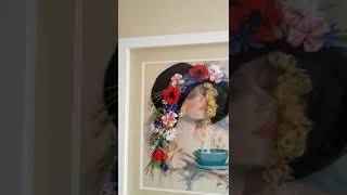 """""""Девушка в шляпе с цветами"""""""
