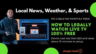 Watch Live Local TV For Free (Local News, Weather, & Sports)