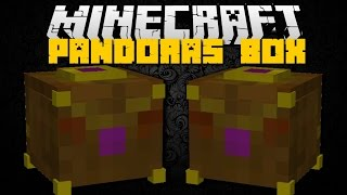 Minecraft: PANDORA'S BOX MOD (Lucky Box Openings With Rewards Or Revenge) Mod Showcase