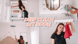 Deep Cleaning My Room (satisfying) !!