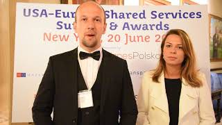 Pomerania and EPAM celebrate at USA-Europe Shared Services Awards