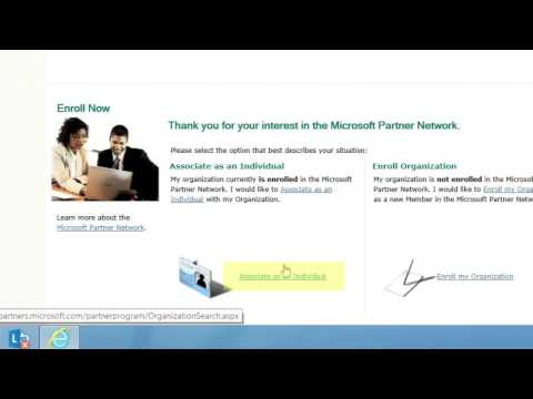 Microsoft Partner Network: How to Associate Your Microsoft Account ...