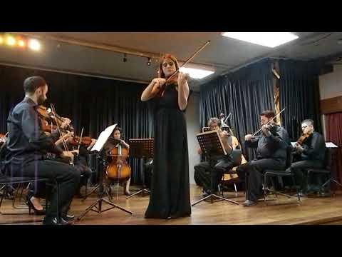 Violinist: Valeria Ortega- Palacio/B. Bartók : Romanian Folk Dance