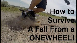 Onewheel Beginners: What is Speed Wobble and How to Fall Safely