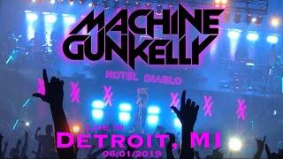 MGK Hotel Diablo Tour Live In Detroit, MI 060119 (Full Set)