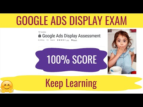 Google Ads Display Certification Exam Answers April 2021 - 100 ...