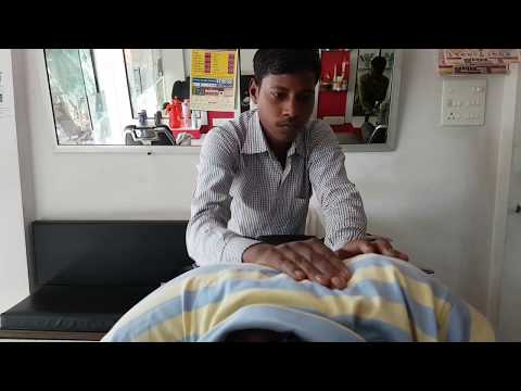 Die Manualtherapie, um abzumagern