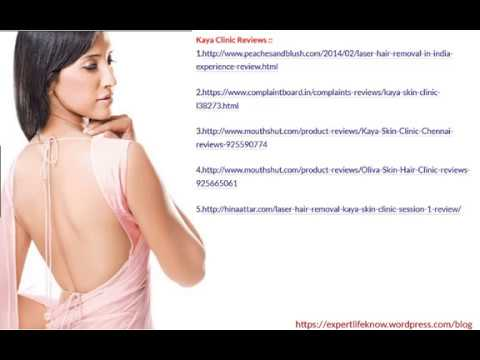 Laser Hair Removal Chennai Reviews Links by Real Customers