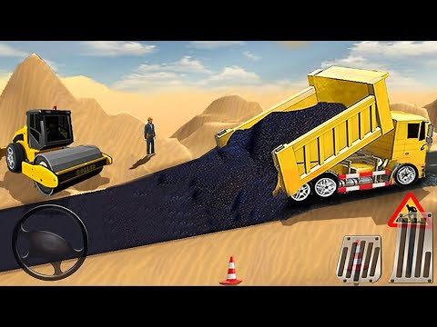 Build City Road - Long Highway Construction Sim - Best Android GamePlay