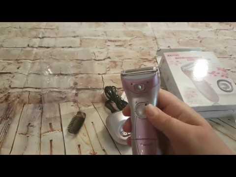 Viitop eu Damenrasierer Wet und Dry Elektrischer Rasierer für Frauen Ladyshaver Trimmer