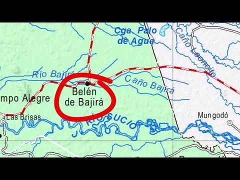 Choco le pide a Antioquia una transicion tranquila de Belen de Bajira