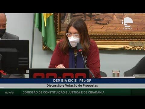 Constituição e Justiça e de Cidadania - Discussão e votação de propostas - 13/10/2021