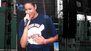 Jordin Sparks - No Air Fenway Park 6/11/11