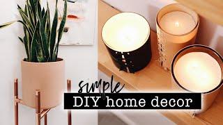SIMPLE DIY HOME DECOR // Entryway Makeover Part 1