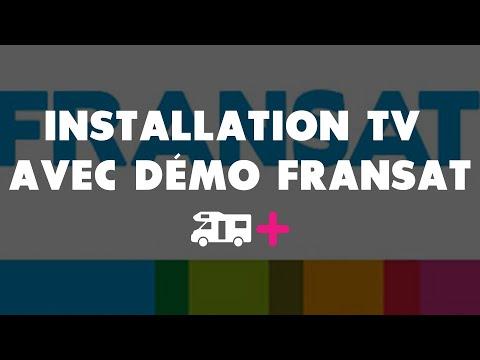 Comment installer une Mobile TV avec démodulateur FRANSAT intégré ?