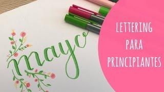 Lettering para principiantes: Florituras, sombras y flores fáciles. TUTORIAL