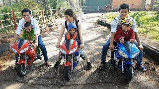 Trò Chơi Bé Chơi Xe Máy Cho Bé ❤ ChiChi ToysReview TV ❤ Đồ Chơi Trẻ Em Baby Motocrycle Song