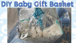 DIY Baby Gift Basket