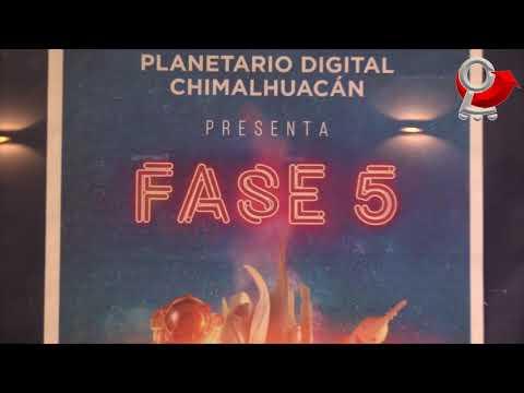 Planetario Digital Chimalhuacán y TESCHI diseñan proyectos científicos