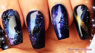 Amazing Galaxy Nail Design | Modelones Gel Galaxy Collection