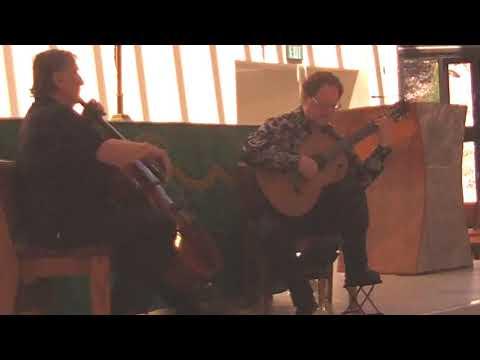 """Gregorio & Mello Cello - Maleguena """"Noche en Malaga"""" (Celedonio Romero) July 21, 2019."""