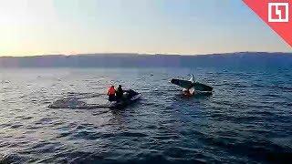 Самолёт упал в Байкал