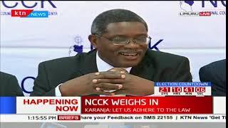 NCCK General Secretary Rev. Canon Peter Karanja issues statement