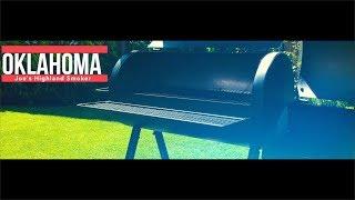 OKLAHOMA Joe`s Highland SMOKER (Char Broil)   UNBOXING   Grillvorstellung   einbrennen