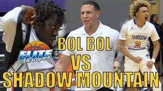 Bol Bol vs Shadow Mountain! 7'3 GIANT vs BEST Defensive Team in the Nation