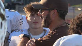 Ben Massengale grows up in the Stonington football family