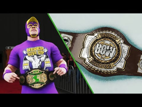 The BEST Custom BCW Titles & Arenas EVER In WWE 2K19