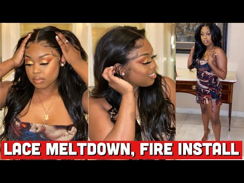 CELEBRITY STYLIST SECRETS LAYERS & CURLS MELTED LACE | THE BEST AFFORDABLE STRAIGHT HAIR | Ali Grace