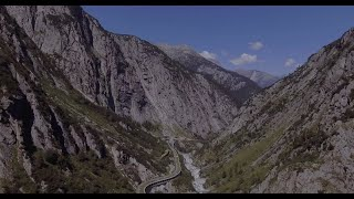 Mountain Road Passes in Switzerland / Summer 2020 / Furkapass Oberalppass / Dji Phantom 4