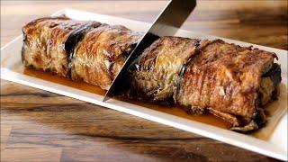 מתכון לרולדת חצילים ממולא בבשר