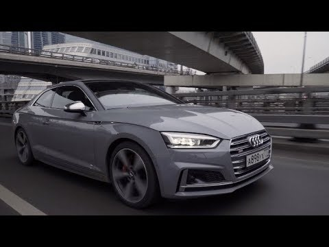 Audi S5 Coupe Купе класса D - тест-драйв 3