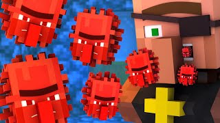 Villager vs Pillager Life 10 [COVID-19] - Minecraft Animation