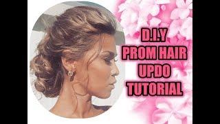 DIY PROM/WEDDING/RACES/BRIDESMAID HAIR UPDO TUTORIAL