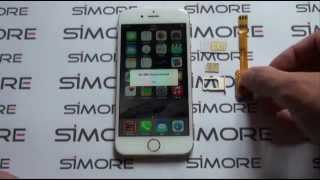 iPhone 6 - Dual SIM Adapter 4G for iPhone 6 and 6 Plus iOS 8 - SIMore X-Twin-6