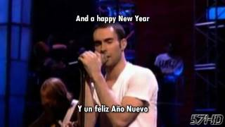 Maroon 5 - Happy Xmas (War Is Over) (John Lennon) HD Live Subtitulado Español English Lyrics