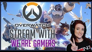 🔴🎮AGENTS OF OVERWATCH!🎮🔴 | OVERWATCH | REHTHEA STREAMS W/ WE ARE GAMERS