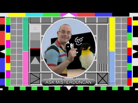 ASK MISTERDUNCAN - Channel news !!