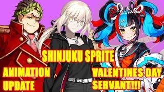 Gaius Julius Caesar  - (Fate/Grand Order) - New Valentines Day Servant, Saber Alter Shinjuku Sprite & Buff, Cesar New Animation