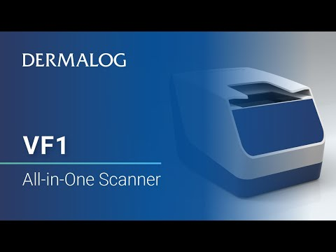VF1 All-in-One Scanner for fingerprints and documents - YouTube